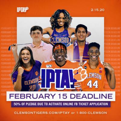 Iptay February 15 Deadline Approaching Iptay